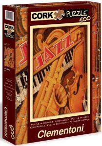 Los mejores puzzles de Jazz - Puzzle de Jazz saxofón de 500 piezas de Clementoni - Puzzles de Música