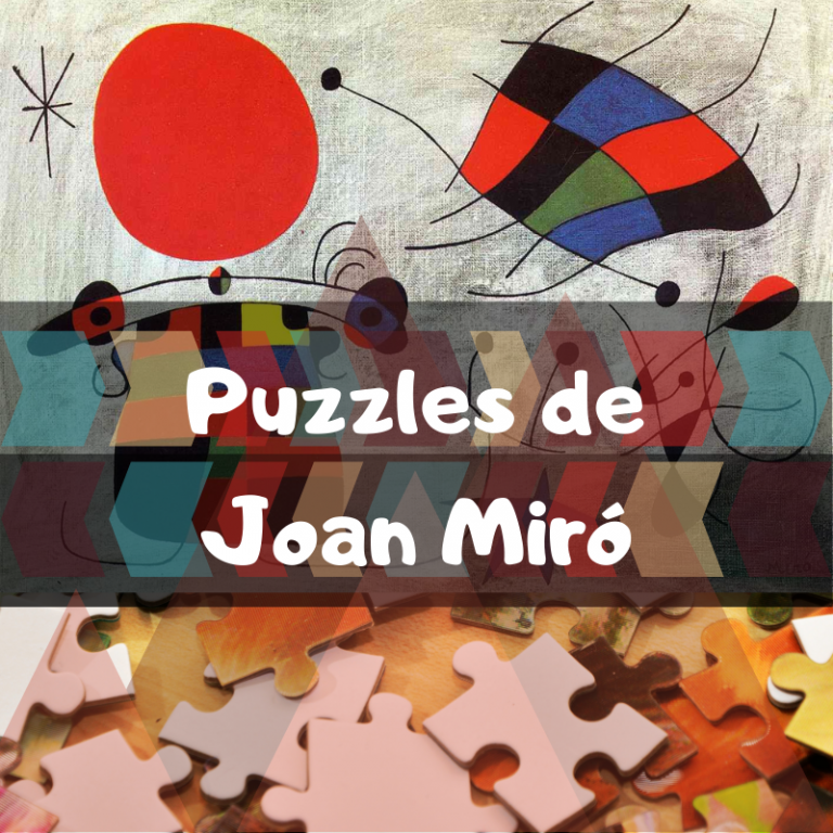 Los mejores puzzles de Joan Miró