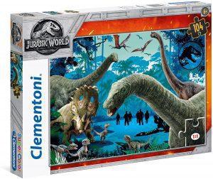 Los mejores puzzles de Jurassic World y Jurassic Park - Puzzle de Jurassic World de 104 de Clementoni