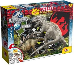 Los mejores puzzles de Jurassic World y Jurassic Park - Puzzle de Jurassic World de 250 de Lisciani