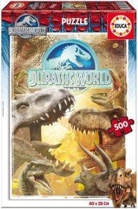 Los mejores puzzles de Jurassic World y Jurassic Park - Puzzle de Jurassic World de 500 de Educa