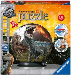Los mejores puzzles de Jurassic World y Jurassic Park - Puzzle de Jurassic World en 3D de 72 de Ravensburger