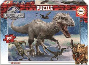 Los mejores puzzles de Jurassic World y Jurassic Park - Puzzle de Jurassic World en de 200 de Educa