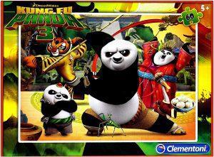 Los mejores puzzles de Kung Fu Panda - Puzzle de Kung Fu Panda 3 de Dreamworks de 60 piezas de Clementoni