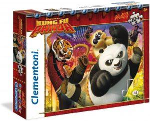 Los mejores puzzles de Kung Fu Panda - Puzzle de Kung Fu Panda de Dreamworks de 104 piezas de Clementoni