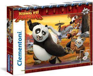 Los mejores puzzles de Kung Fu Panda - Puzzle de Kung Fu Panda de Dreamworks de 60 piezas de Clementoni