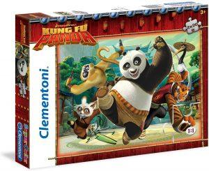 Los mejores puzzles de Kung Fu Panda - Puzzle de Kung Fu Panda la serie de 2x20 piezas de Clementoni
