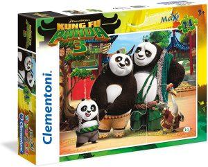 Los mejores puzzles de Kung Fu Panda - Puzzle de familia de Kung Fu Panda 3 de 24 piezas de Clementoni