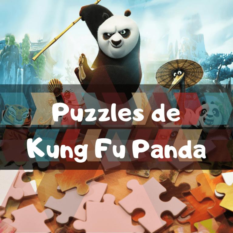 Los mejores puzzles de Kung Fu Panda