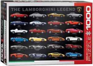 Los mejores puzzles de Lamborghini - Puzzle de Lamborghini Evolution de 1000 piezas de Eurographics