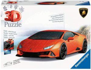 Los mejores puzzles de Lamborghini - Puzzle de Lamborghini Huracan EVO en 3D de Ravensburger