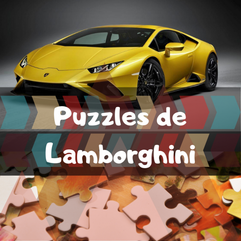 Los mejores puzzles de Lamborghini