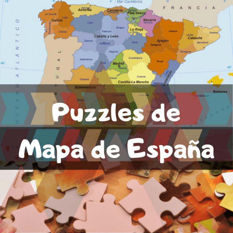 Los mejores puzzles del mapa de España