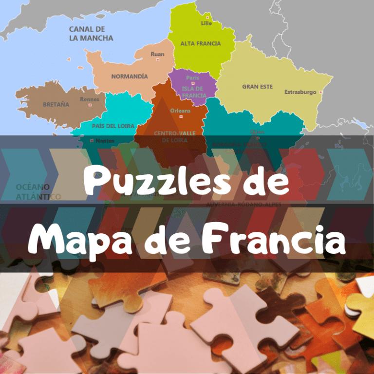 Los mejores puzzles del mapa de Francia