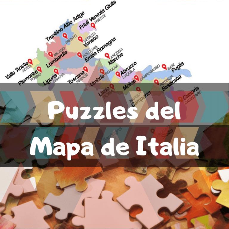 Los mejores puzzles del mapa de Italia