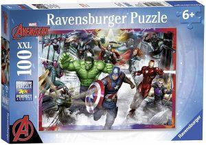 Los mejores puzzles de Marvel - Puzzle de los Vengadores de Ultron 100 piezas de Ravensburger - Puzzles de personajes de Marvel