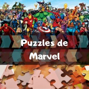 Los mejores puzzles de Marvel - Puzzles de Marvel - Puzzle de personajes de Marvel
