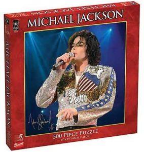 Los mejores puzzles de Michael Jackson - Puzzle de Michael Jackson de 500 piezas de University Games 2
