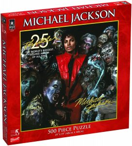 Los mejores puzzles de Michael Jackson - Puzzle de Michael Jackson de 500 piezas de University Games 25 Aniversario