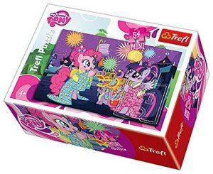 Los mejores puzzles de My Little Pony - Mi Pequeño Pony - Puzzle de My Little Pony mini de 54 piezas de Trefl