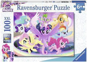 Los mejores puzzles de My Little Pony - Mi Pequeño Pony - Puzzle de personajes de My Little Pony de 100 piezas de Ravensburger