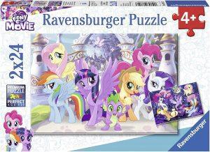Los mejores puzzles de My Little Pony - Mi Pequeño Pony - Puzzle de personajes de My Little Pony de 2x24 piezas de Ravensburger
