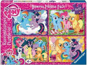 Los mejores puzzles de My Little Pony - Mi Pequeño Pony - Puzzle de personajes de My Little Pony de 4x42 piezas de Ravensburger