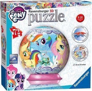 Los mejores puzzles de My Little Pony - Mi Pequeño Pony - Puzzle de My Little Pony de 160 piezas de Trefl