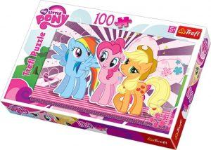 Los mejores puzzles de My Little Pony - Mi Pequeño Pony - Puzzle de protagonistas de My Little Pony de 100 piezas de Trefl