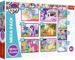 Los mejores puzzles de My Little Pony - Mi Pequeño Pony - Puzzle de protagonistas de My Little Pony progresivos de Trefl