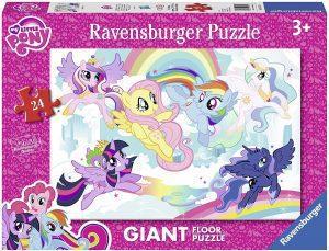 Los mejores puzzles de My Little Pony - Mi Pequeño Pony - Puzzle de suelo de My Little Pony de 24 piezas de Ravensburger