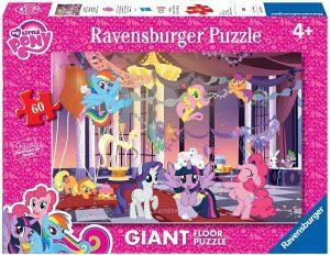 Los mejores puzzles de My Little Pony - Mi Pequeño Pony - Puzzle de suelo de My Little Pony de 60 piezas de Ravensburger