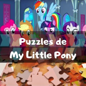 Los mejores puzzles de My Little Pony - Puzzles de My Little Pony - Puzzle de Mi Pequeño Pony