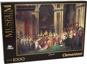 Los mejores puzzles de Napoleón - Puzzle de La Coronación De Napoleón Y Josefina de 1000 piezas de Clementoni