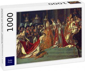 Los mejores puzzles de Napoleón - Puzzle de La Coronación De Napoleón Y Josefina de 1000 piezas de Lais