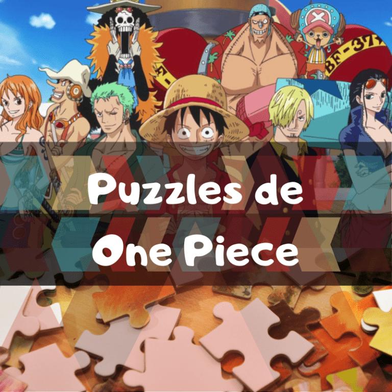 Los mejores puzzles de One Piece