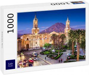 Los mejores puzzles de Perú - Puzzle de Arequipa en Perú de 1000 piezas de Lais
