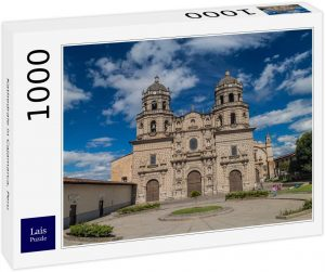 Los mejores puzzles de Perú - Puzzle de Catedral de Cajamarca en Perú de 1000 piezas de Lais