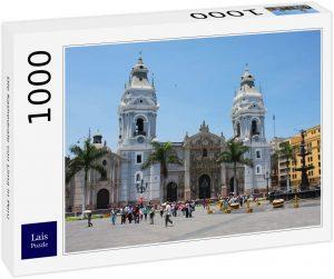 Los mejores puzzles de Perú - Puzzle de Catedral de Lima en Perú de 1000 piezas de Lais