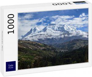 Los mejores puzzles de Perú - Puzzle de Huascarán en Perú de 1000 piezas de Lais