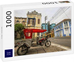 Los mejores puzzles de Perú - Puzzle de Iquitos en Perú de 1000 piezas de Lais