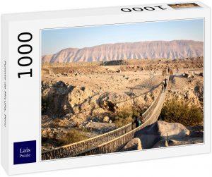Los mejores puzzles de Perú - Puzzle de Puente de Miculla en Perú de 1000 piezas de Lais