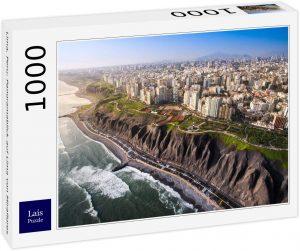 Los mejores puzzles de Perú - Puzzle de Vista de Lima en Perú de 1000 piezas de Lais