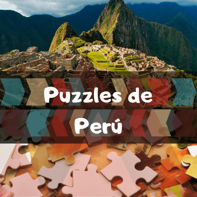 Los mejores puzzles de Perú