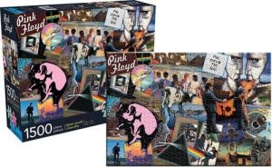 Los mejores puzzles de Pink Floyd - Puzzle de Pink Floyd collage de 1500 piezas de Aquarius