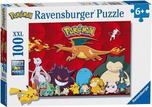 Los mejores puzzles de Pokemon - Puzzle de Pokemon de 100 piezas de Ravensburger