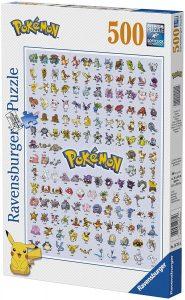Los mejores puzzles de Pokemon - Puzzle de Pokemon por categorías de 500 piezas de Ravensburger - Puzzles de Pokemon de la Primera Generación