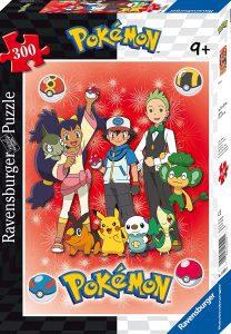 Los mejores puzzles de Pokemon - Puzzle de personajes de Pokemon de 300 piezas de Ravensburger
