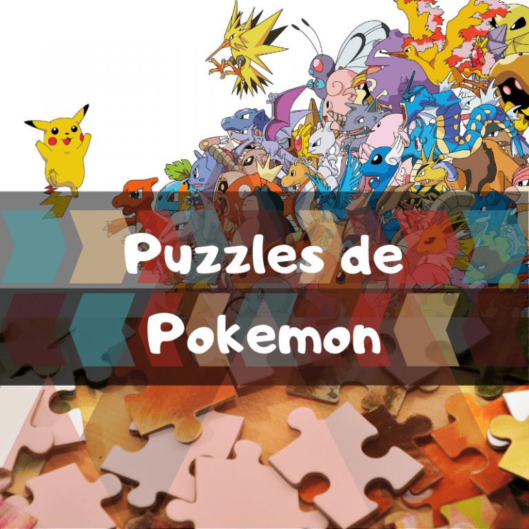 Los mejores puzzles de personajes de Pokemon