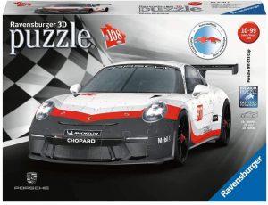 Los mejores puzzles de Porsche - Puzzle de Porsche 911 GT3 Cup en 3D de Ravensburger